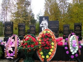 Центральный мемориал в с. Алакуртти