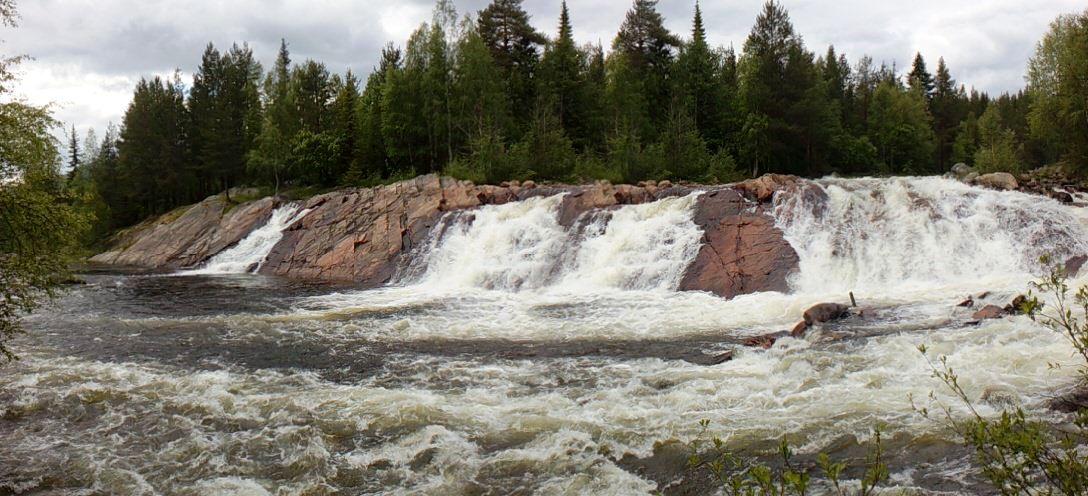 Колвицкие водопады