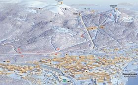 Катание на беговых лыжах