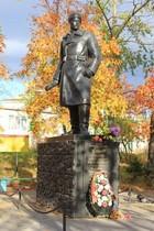 Памятник герою Советского Союза А.В. Спекову