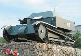 Т-27 - советская танкетка (с. Алакуртти)