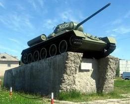 Танк Т-34 (с. Алакуртти)